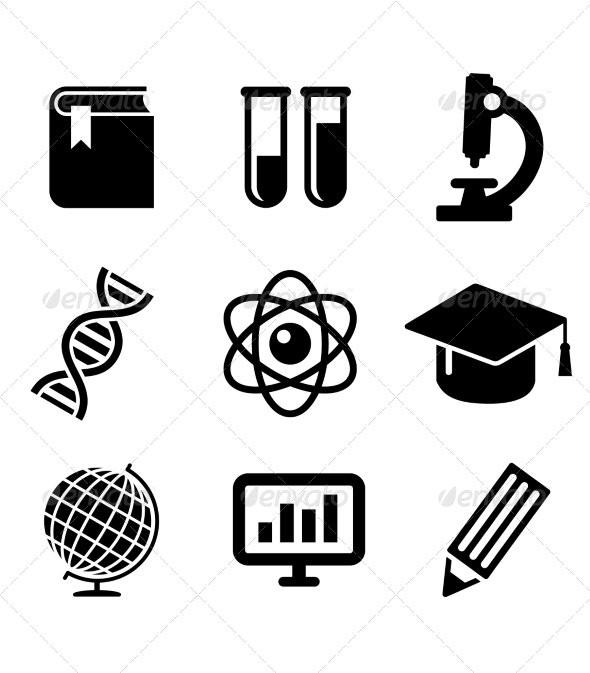 Science and Education Icons - Health/Medicine Conceptual