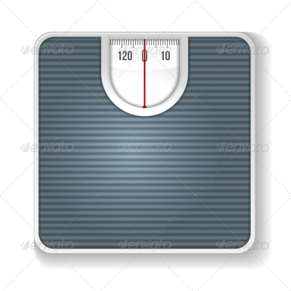 Weight Scale - Sports/Activity Conceptual