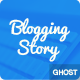 Blogging Story Responsive Ghost Theme Nulled