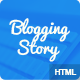 Blogging story HTML5 Blog template Nulled