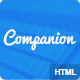 Companion Clean and responsive HTML5 template
