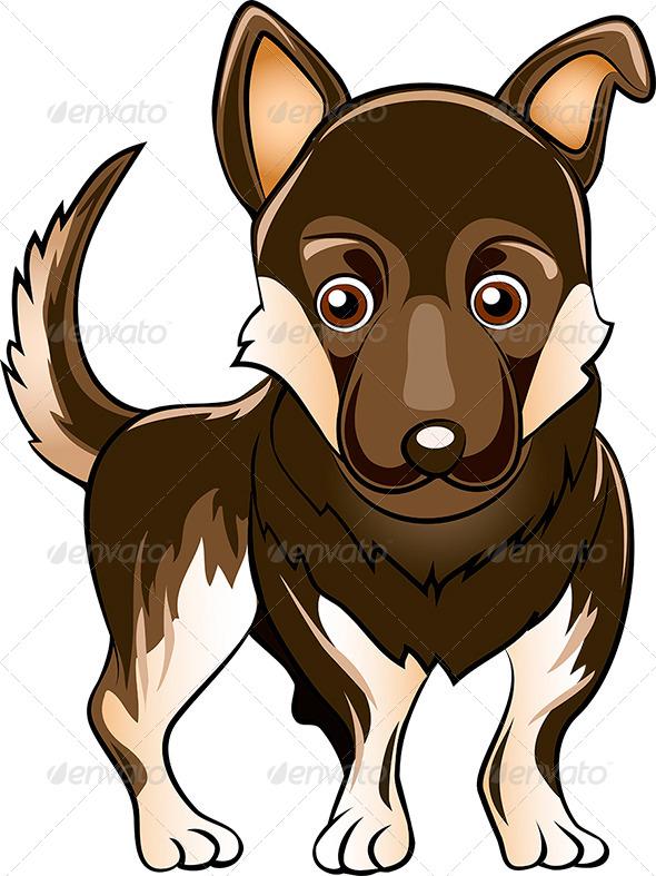 German Shepherd Dog - Animals Characters