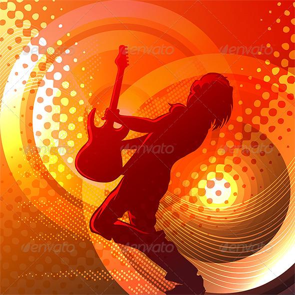 Rock Music - Conceptual Vectors