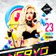 Guest DJ Party Flyer Vol.3 - GraphicRiver Item for Sale
