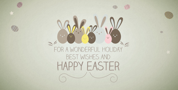 Easter greetings by celestefps videohive easter greetings m4hsunfo