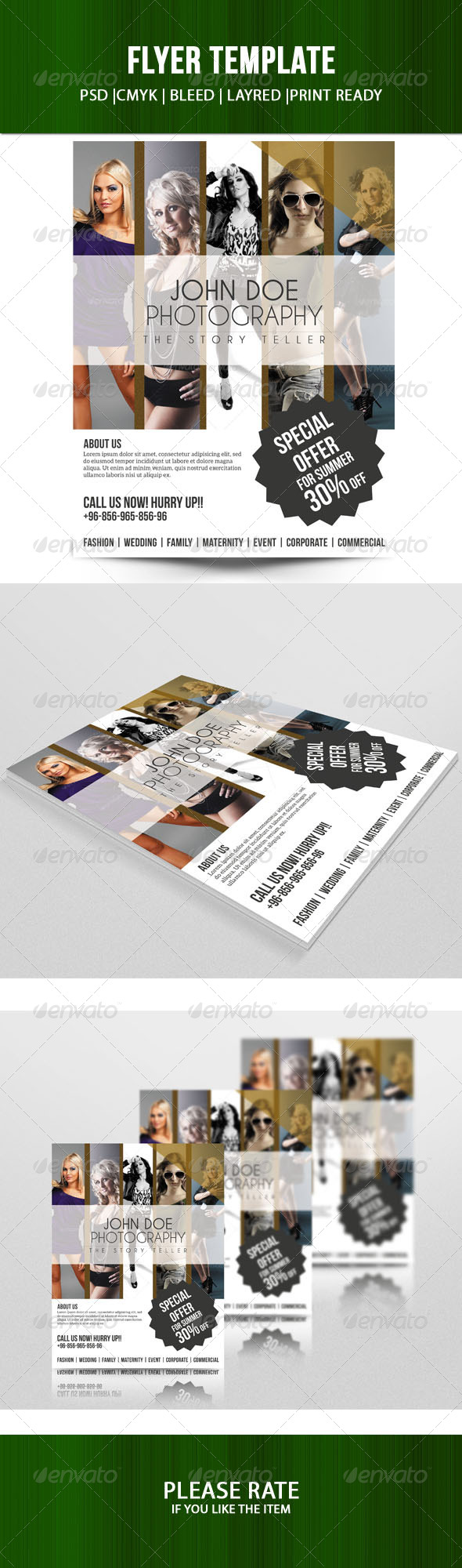 Sale Offer Flyer Template - Corporate Flyers