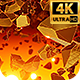 Golden Chunks 4k - VideoHive Item for Sale
