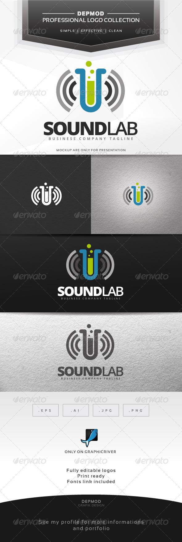 Sound Lab Logo - Symbols Logo Templates