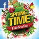 Spring Celebration Facebook Timeline - GraphicRiver Item for Sale