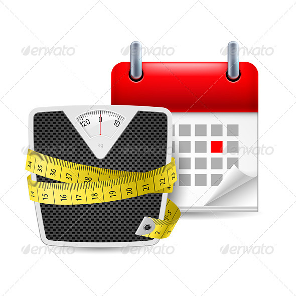 Diet Time Icon - Miscellaneous Vectors