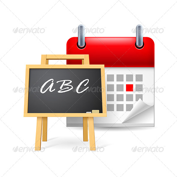 School Time - Miscellaneous Vectors