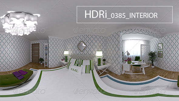 0385 Interoir HDRi - 3DOcean Item for Sale