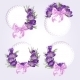 Purple Flowers - GraphicRiver Item for Sale