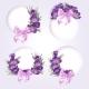 Purple Flowers - GraphicRiver Item for Sale