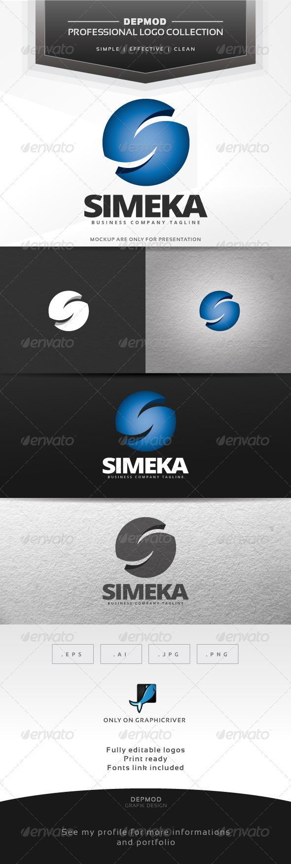 Simeka Logo - Letters Logo Templates