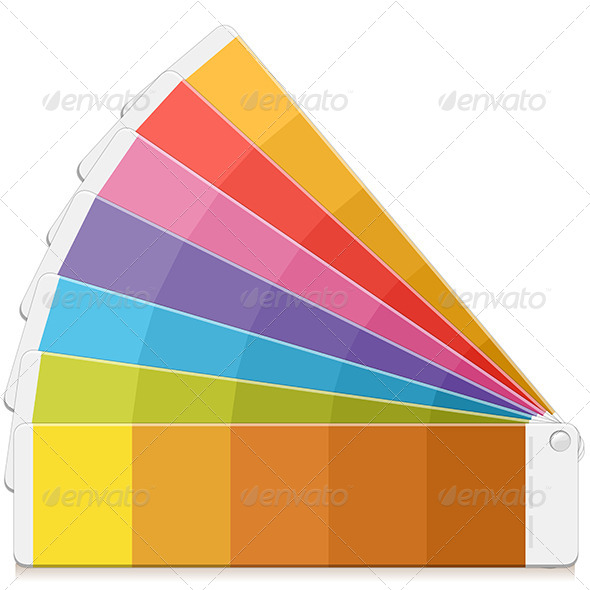 Pantone Palette - Objects Vectors