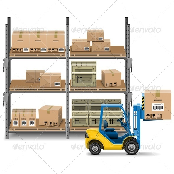 Storage with Forklift - Industries Business