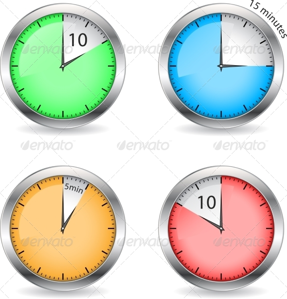 Timers - Abstract Conceptual