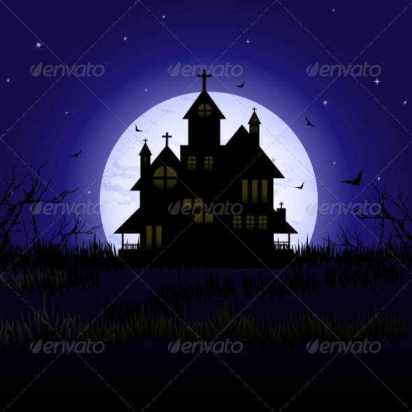 Halloween Castle - Halloween Seasons/Holidays