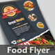 Food Flyer - Business Card - GraphicRiver Item for Sale
