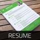 Resume & Cover Letter Template v6 - GraphicRiver Item for Sale