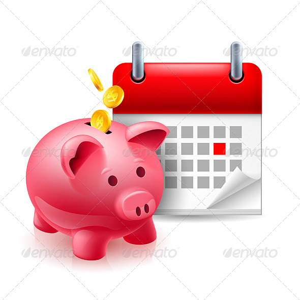 Time and Money Icon - Miscellaneous Vectors