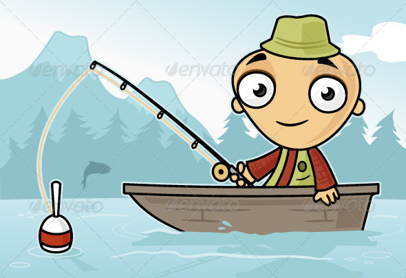Fishing - People Characters