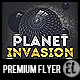 Planet Invasion - Premium Party Flyer - GraphicRiver Item for Sale
