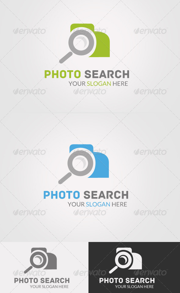 Photo Search Logo  - Objects Logo Templates