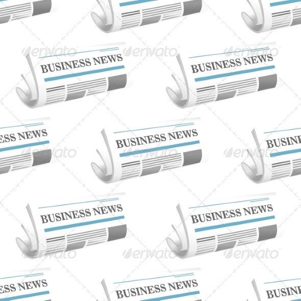Pattern of Folded Business Newspapers - Patterns Decorative