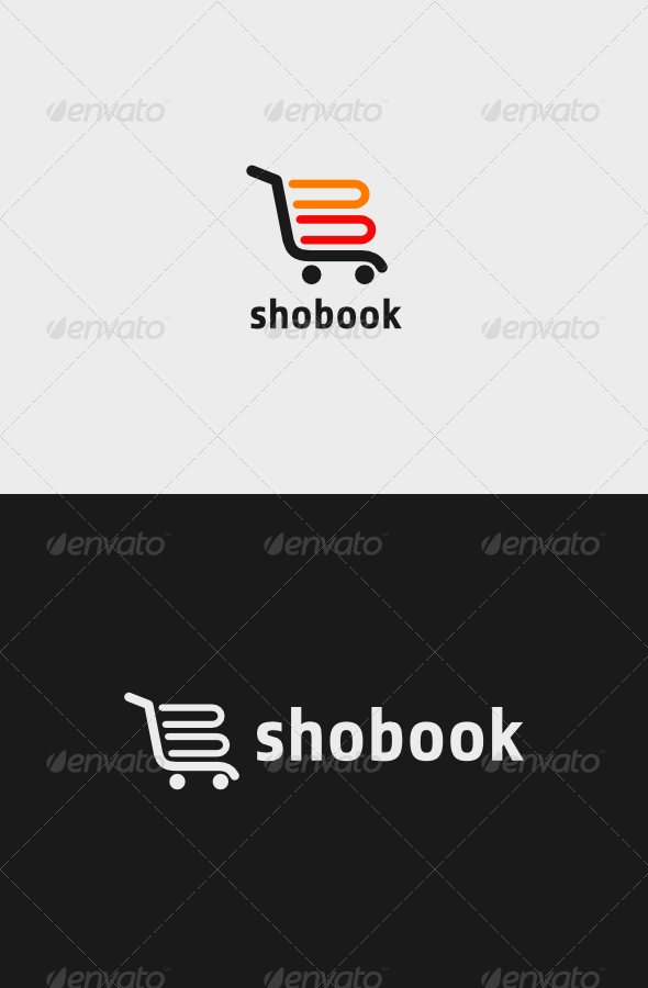 Book Shop Logo - Objects Logo Templates