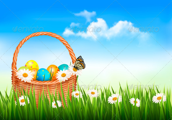 Easter Background - Miscellaneous Seasons/Holidays