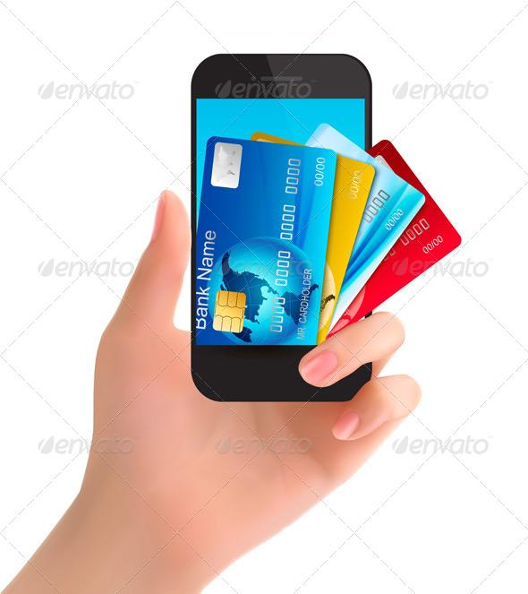 Banking Concept - Commercial / Shopping Conceptual