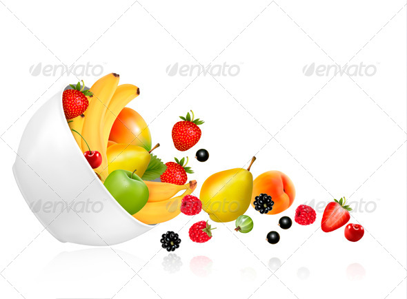 Fruit Bowl - Food Objects