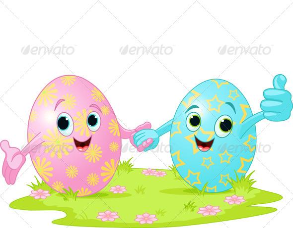 Easter Eggs - Seasons/Holidays Conceptual