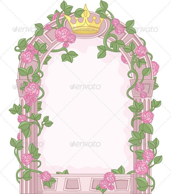 Fairy Tale Frame - Borders Decorative