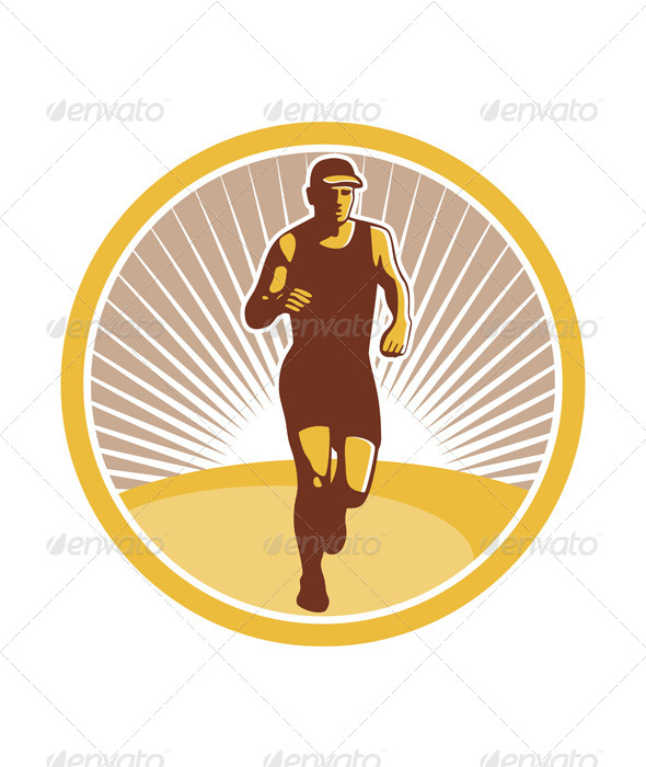 Marathon Runner - Sports/Activity Conceptual