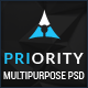 Priority | Multi-Purpose PSD Template Nulled