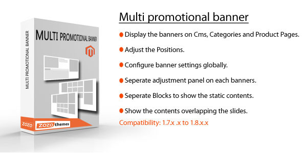 Magento slider for CMS, widgets and Product Pages - CodeCanyon Item for Sale