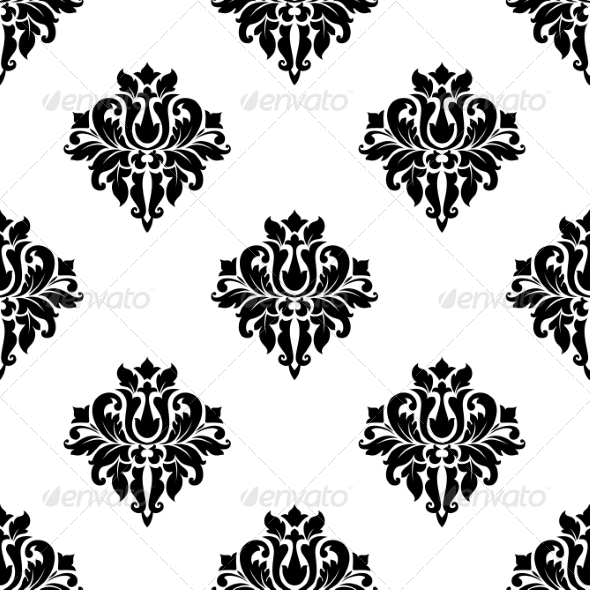 Decorative Seamless Pattern Background - Patterns Decorative
