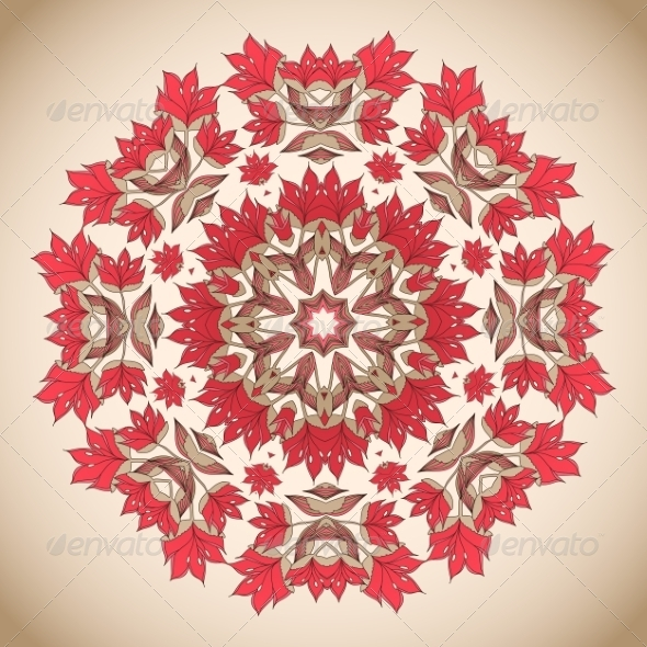 Floral Ornament Pattern - Patterns Decorative