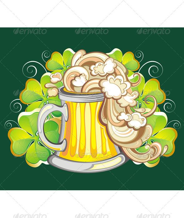 Irish Beer - Seasons/Holidays Conceptual