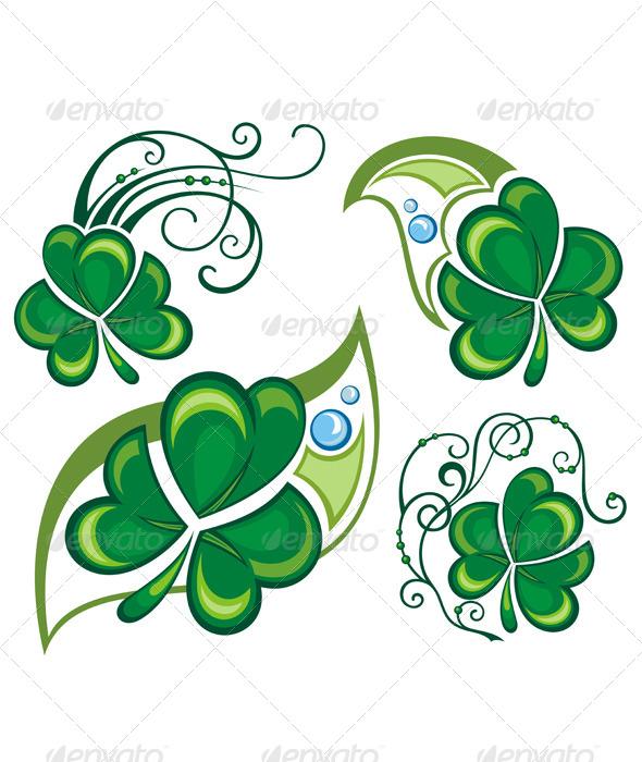 Clover Design - Flourishes / Swirls Decorative