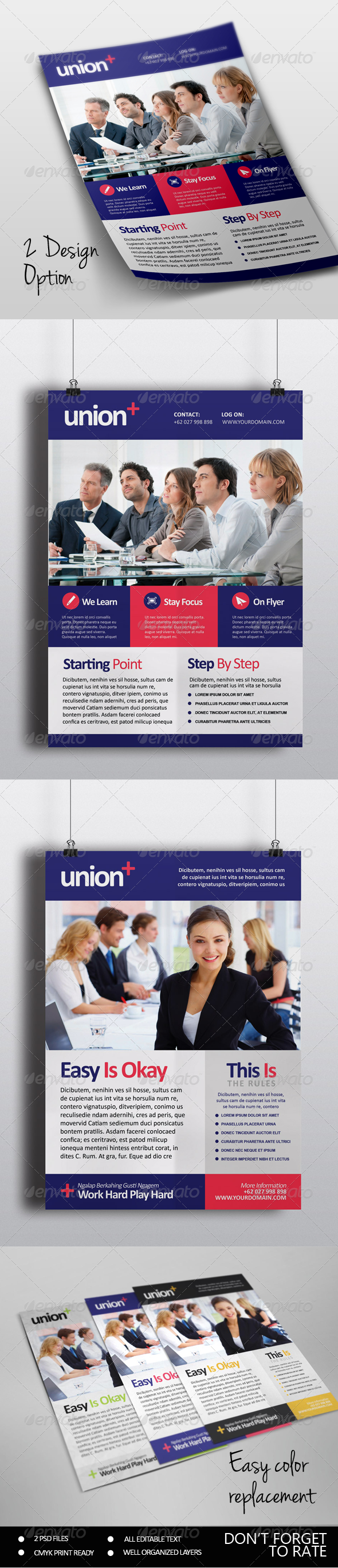 Union - Multipurpose Flyer Template - Corporate Flyers