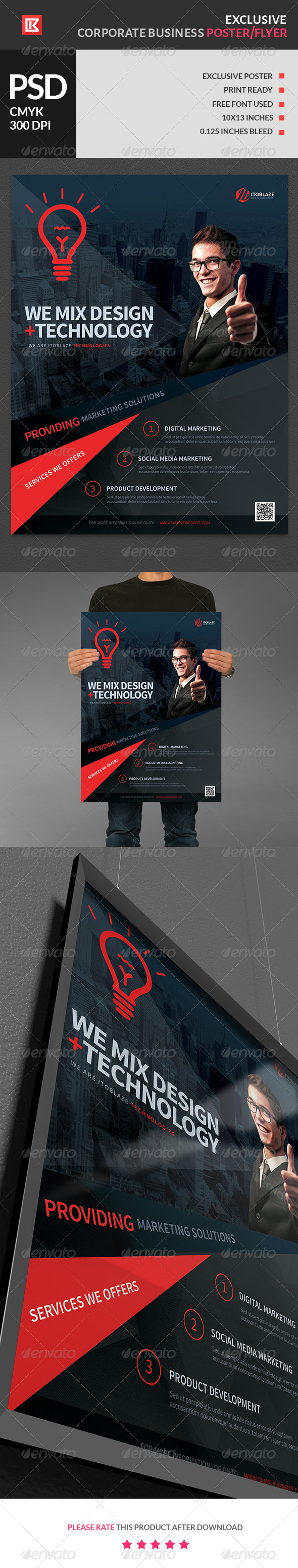 Exclusive Corporate Business Flyer and Poster 2 - Corporate Flyers