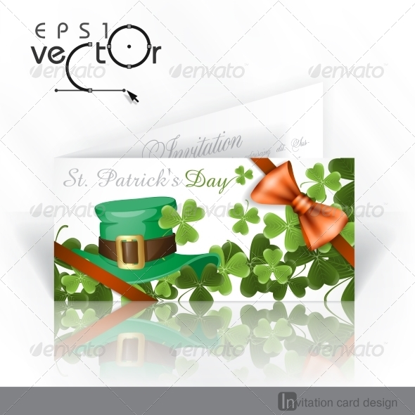 Patrick's Day Background With Leprechaun Hat  - Miscellaneous Seasons/Holidays