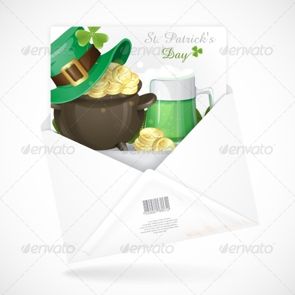 Patrick's Day Background  - Miscellaneous Seasons/Holidays