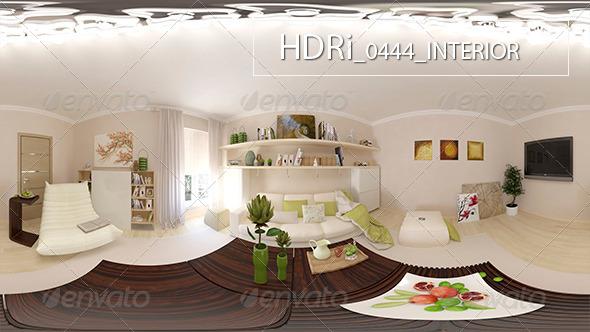 0444 Interoir HDRi - 3DOcean Item for Sale