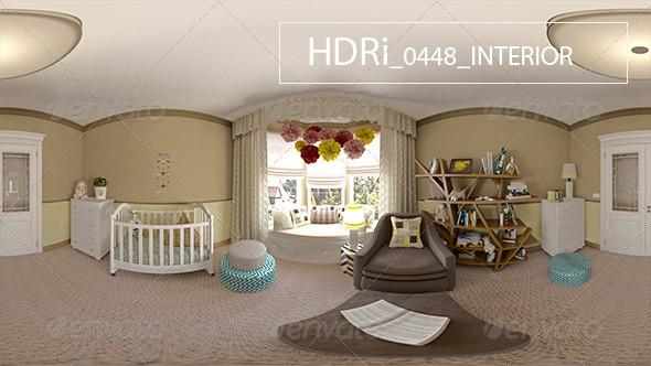0448 Interoir HDRi - 3DOcean Item for Sale