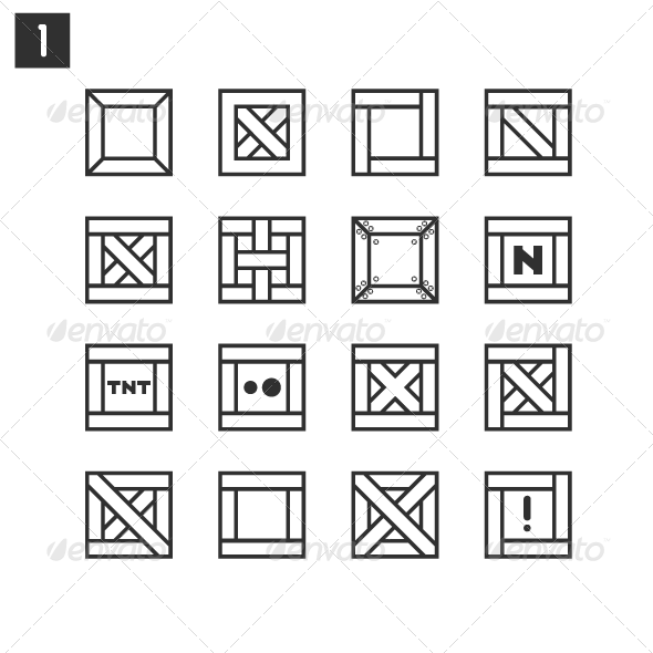 Black Boxes - Objects Vectors
